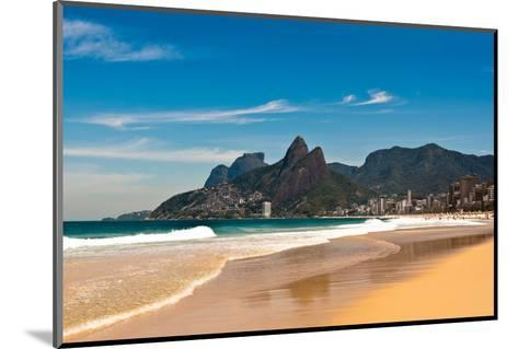 Ipanema Beach on Sunny Summer Day-dabldy-Mounted Photographic Print
