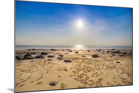 Beach and Tropical Sea-Ronnachai-Mounted Photographic Print