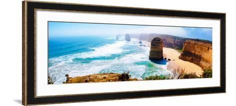 The Twelve Apostles by the Great Ocean Road in Victoria, Australia-StanciuC-Framed Art Print