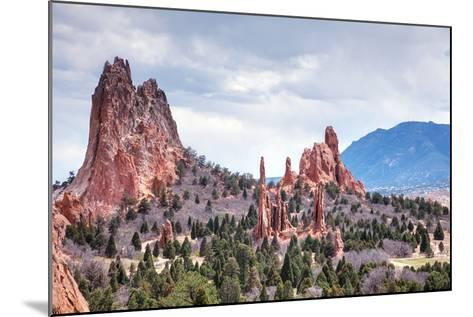 Garden of the Gods in Colorado Springs-photo ua-Mounted Photographic Print