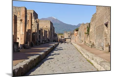Street of Pompeii-JIPEN-Mounted Photographic Print