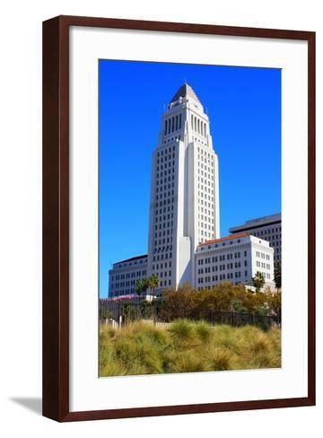LA City Hall-photojohn830-Framed Art Print