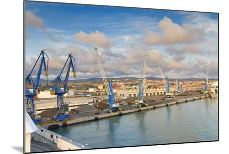 Port of Civitavecchia-lachris77-Mounted Photographic Print
