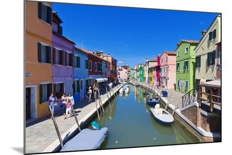 Burano, Venice-lachris77-Mounted Photographic Print