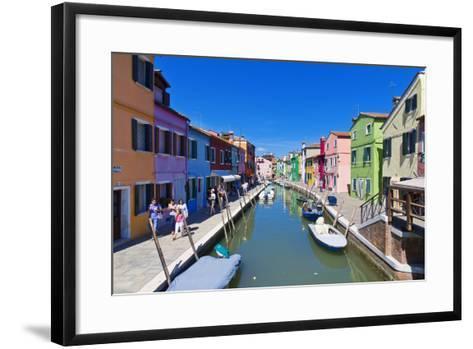 Burano, Venice-lachris77-Framed Art Print