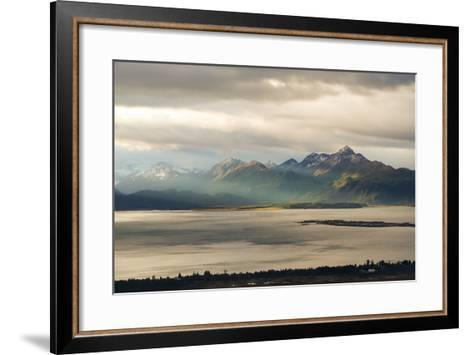 Late Summer in Alaska-Latitude 59 LLP-Framed Art Print