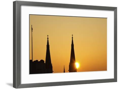 St Mary's Catholic Church-benkrut-Framed Art Print