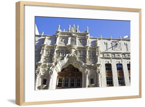 Historic Architecture of Indianapolis-benkrut-Framed Art Print
