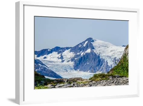 Path to Portage Glacier-Latitude 59 LLP-Framed Art Print