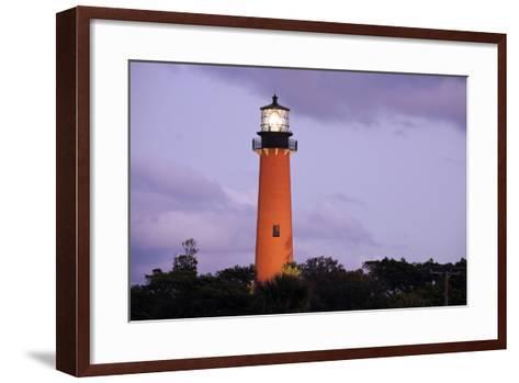 Jupiter Inlet Lighthouse-benkrut-Framed Art Print