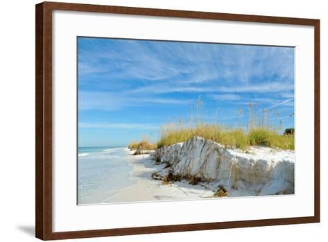 Beautiful Florida Coastline-EyeMark-Framed Art Print