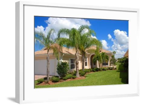 Florida Home-Yarex-Framed Art Print