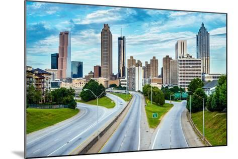 Atlanta Downtown Skyline-Rob Hainer-Mounted Photographic Print