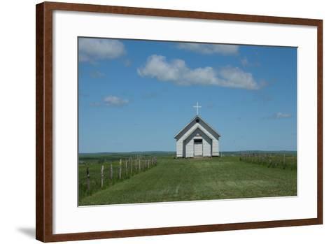 Prairie Church-Scottsanders-Framed Art Print