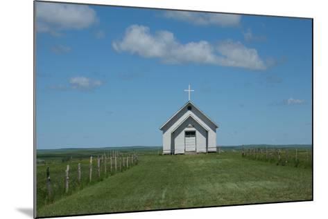 Prairie Church-Scottsanders-Mounted Photographic Print
