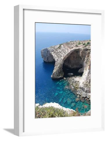 Blue Grotto-alanf-Framed Art Print