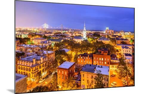 Savannah, Georgia, USA Skyline.-SeanPavonePhoto-Mounted Photographic Print