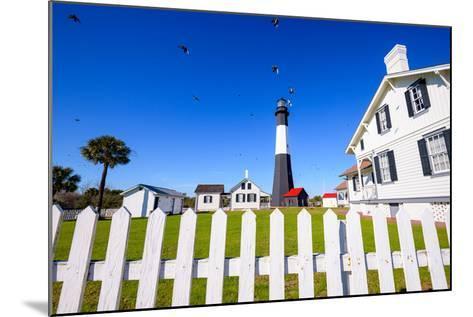 Tybee Island Light House of Tybee Island, Georgia, Usa.-SeanPavonePhoto-Mounted Photographic Print
