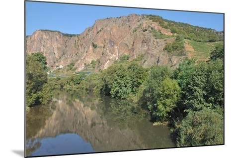 Rotenfels Rock,Nahe River,Germany-travelpeter-Mounted Photographic Print