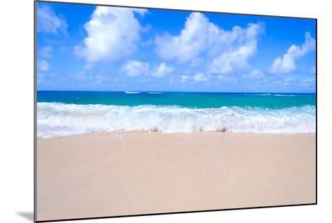Sandy Beach Background-EllenSmile-Mounted Photographic Print