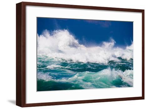 Powerful Ocean Wave-michaeljung-Framed Art Print