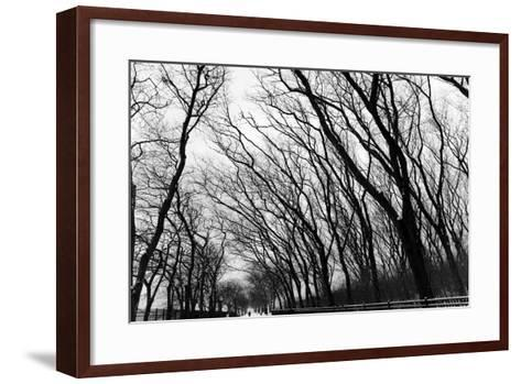 Chicago Winter-CHRSTOCK-Framed Art Print