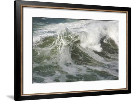 Rough Pacific Ocean Waves-Andy Dean Photography-Framed Art Print