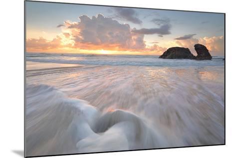 Sunrise and Ocean Flows at Watonga Rocks-lovleah-Mounted Photographic Print