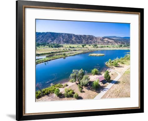 Colorado River-urbanlight-Framed Art Print