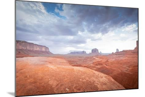 Valley Monument Canyon Colorado Sandstone-weltreisendertj-Mounted Photographic Print