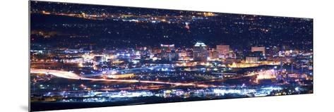 Colorado Springs at Night-duallogic-Mounted Photographic Print