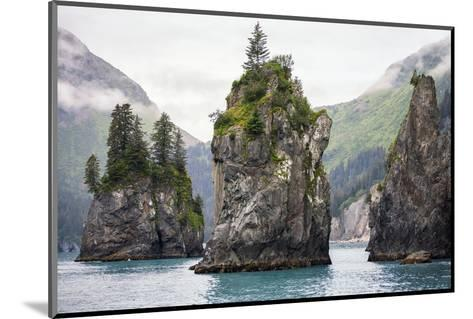 Sea Stacks, Kenai Fjords National Park, Alaska-Steven Schremp-Mounted Photographic Print