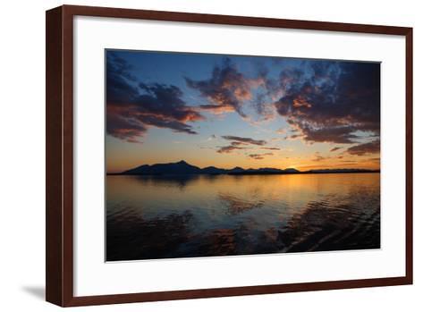 Sunset-Dimarik-Framed Art Print