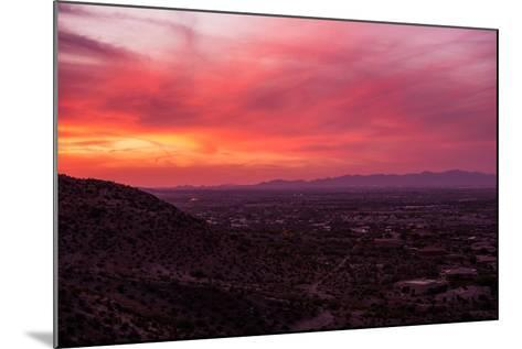 Arizona Sunset Scenery-duallogic-Mounted Photographic Print