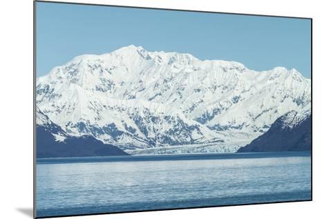 Hubbard Glacier in Yakutat Bay, Alaska.-jirivondrous-Mounted Photographic Print