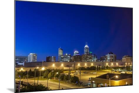 Indianapolis Downtown, Indiana, Usa-Sopotniccy-Mounted Photographic Print