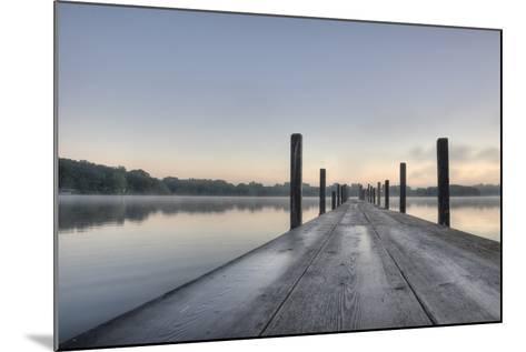 HDR of Sunrise on Lake Okoboji-dosecreative-Mounted Photographic Print