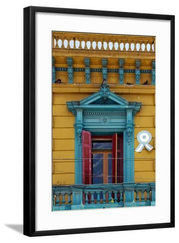Sky and Roof in the Centre of Buenos Aires-lkpro-Framed Art Print