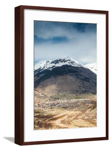 Silverton Panorama, Colorado, Usa-Eunika-Framed Art Print
