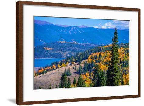 Dillon Silverthorne Colorado-duallogic-Framed Art Print