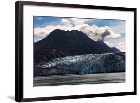 Glacier-devon-Framed Art Print
