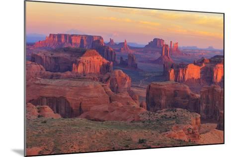 Sunrise at Hunts Mesa Viewpoint-aiisha-Mounted Photographic Print