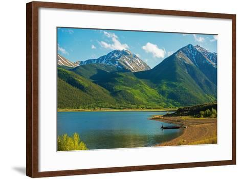 Colorado Twin Lakes-duallogic-Framed Art Print