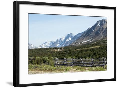 Rural Landscape-cec72-Framed Art Print