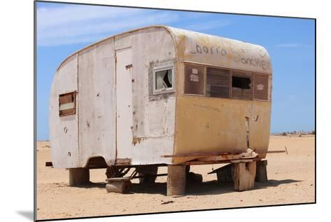 Abandoned Trailer in the Desert-Charles Harker-Mounted Photographic Print