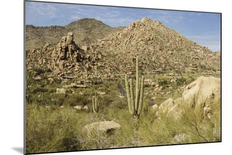 Arizona, Desert Valley Landscape near Phoenix,Scottsdale,Usa-BCFC-Mounted Photographic Print