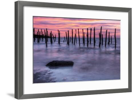 Delaware Bay Sunrise-michaelmill-Framed Art Print