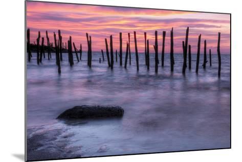 Delaware Bay Sunrise-michaelmill-Mounted Photographic Print