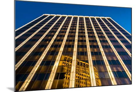 Evening Light on the Pnc Bank Building in Downtown Wilmington, Delaware.-Jon Bilous-Mounted Photographic Print