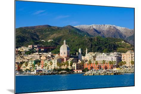 Genoa from the Sea-RnDmS-Mounted Photographic Print
